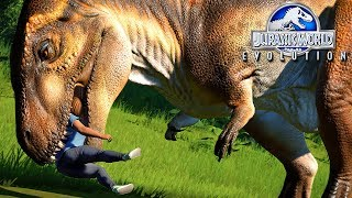 Jurassic World Evolution - Meu Carnívoro ESCAPOU!, NOVOS DINOSSAUROS! | (#39) (PT-BR)