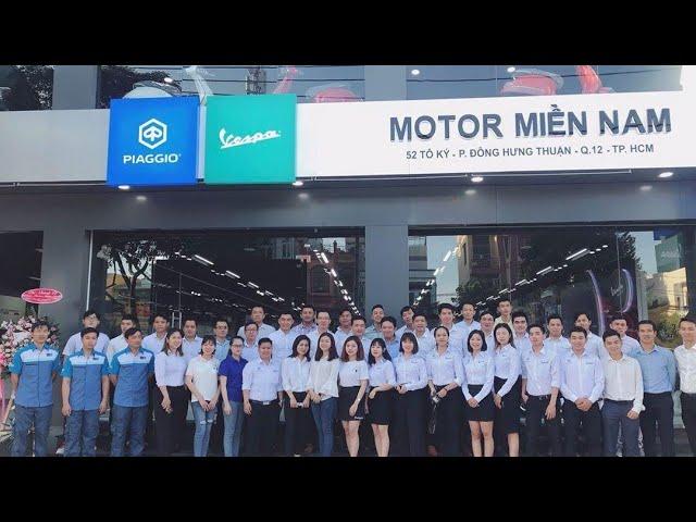 Giới Thiệu Piaggio Motor Miền Nam - Đại Lý Uỷ Quyền Đầu Tiên Tại Phía Bắc TPHCM