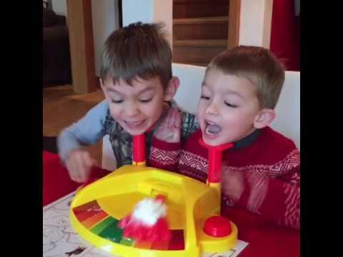 Pie face game !!!  Boys so cute