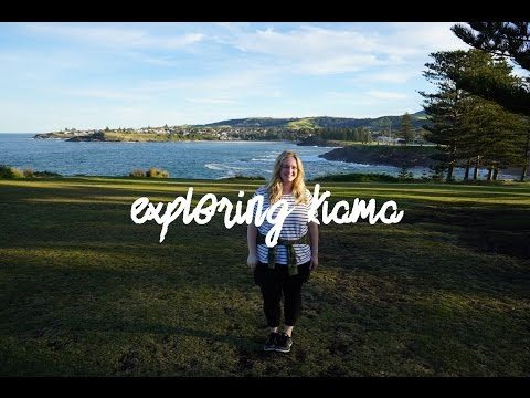 Taking the train from Sydney and exploring Kiama!