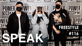 """Speak Spits Fire Bars Over Ghostface Killah's """"One"""" Instrumental l L.A. Leakers Freestyle #116"""