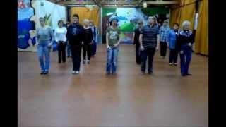 White Rose Line Dance - compte et danse