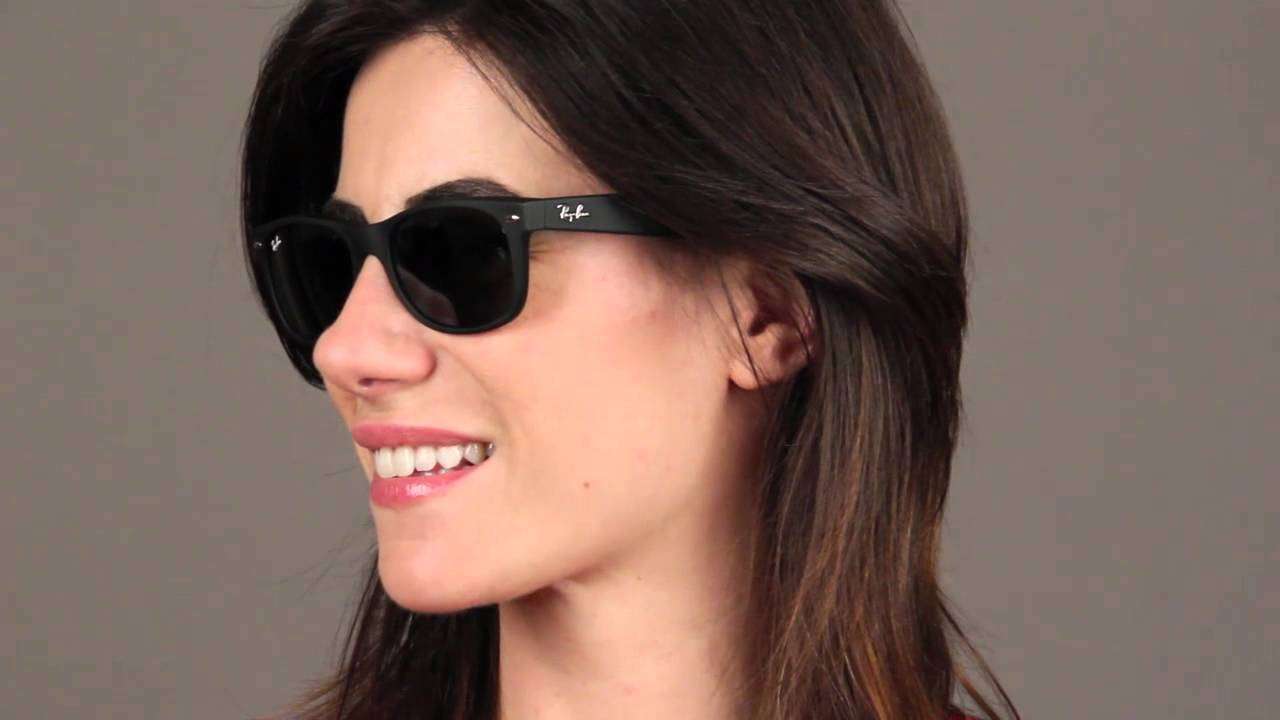 Ray-Ban RB2132 New Wayfarer Sunglasses Review - YouTube