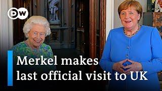 Angela Merkel's final UK visit as German Chancellor