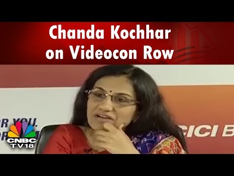 Chanda Kochhar on the ICICI Bank-Videocon Loan Controversy | CNBC Tv18
