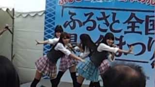 9/9名古屋市久屋大通にてOS☆Uのステージパフォーマンスと熱狂的なオタク...