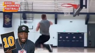NFL Players Dunks Rated by NBA Player Nate Robinson | NFL Rush