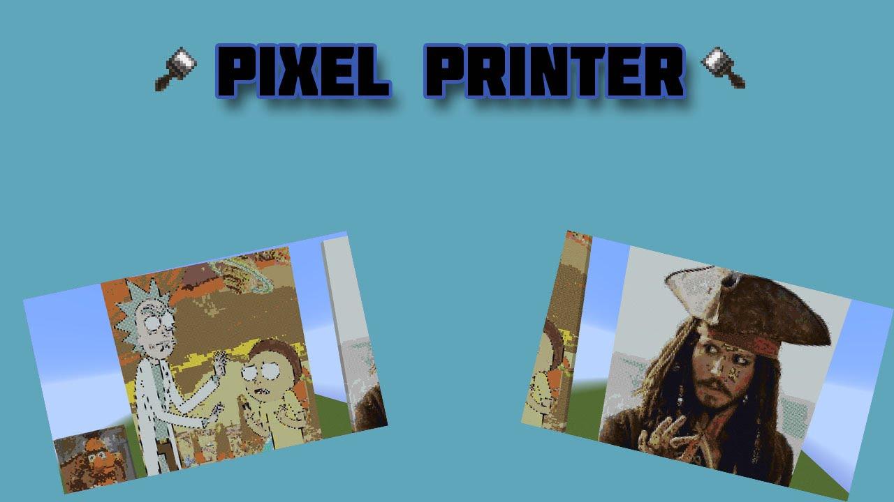 PixelPrinter | SpigotMC - High Performance Minecraft