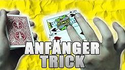 MEGA EINFACHER KARTENTRICK FÜR ANFÄNGER | Zaubertricks mit Erklärung