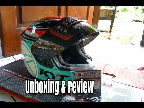 Kyt R10 aqua series.. Unboxing dan review