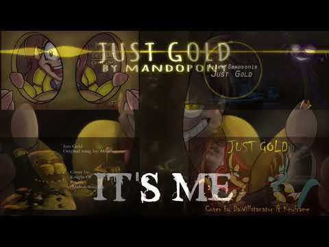"""""""Just Gold"""" - Five Nights At Freddy's Song By MandoPony [VOCAL COVER MASH-UP]#312"""