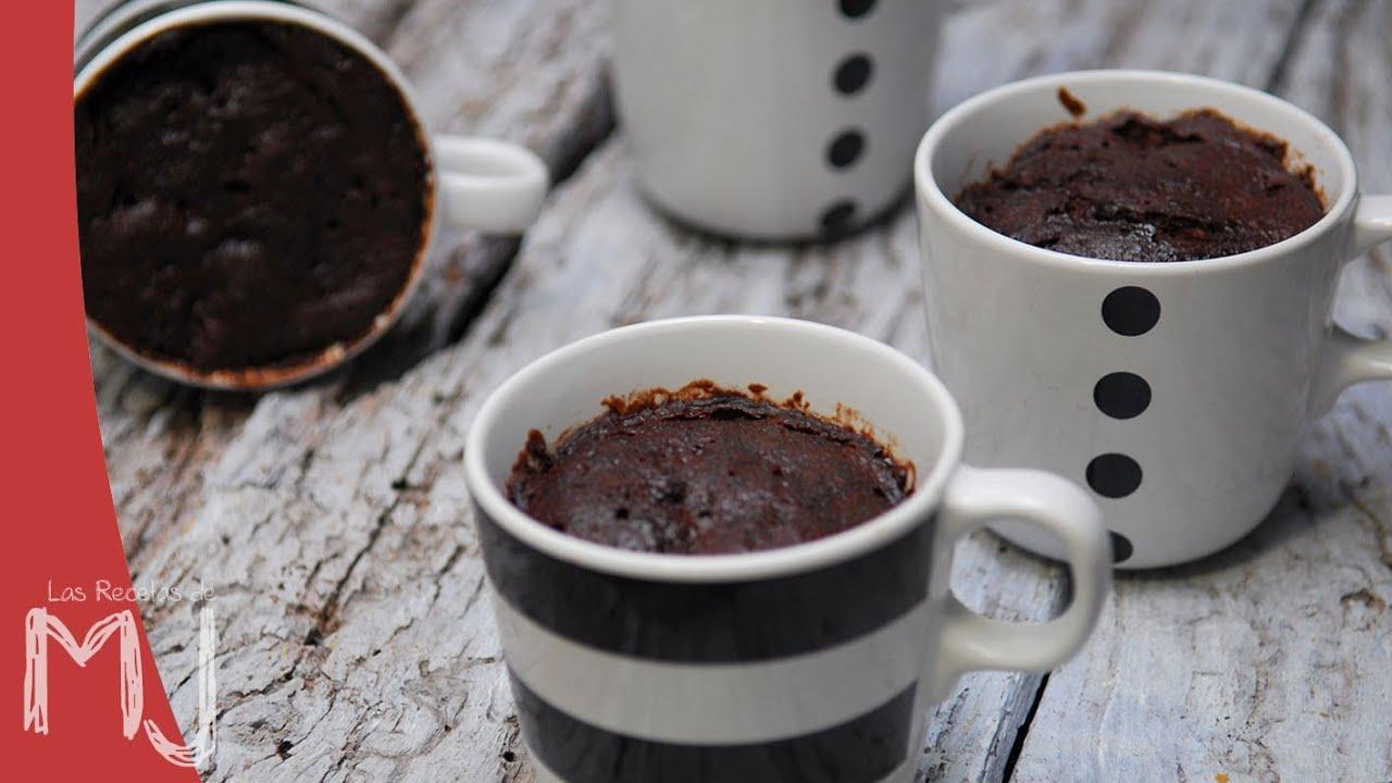 Brownie En Taza En 2 Minutos Mug Cake La Receta De