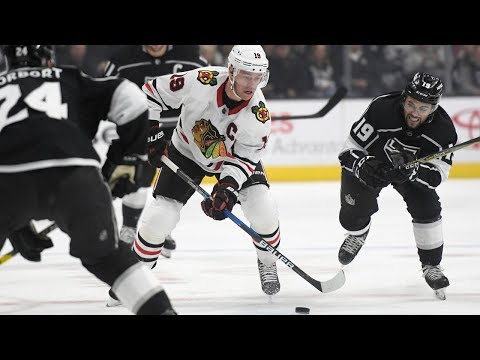 Blackhawks rally in 3rd period, take lead over Kings