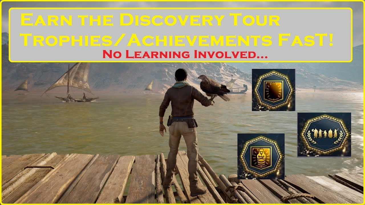 Assassin S Creed Origins Discovery Tour Fast Trophies Achievements
