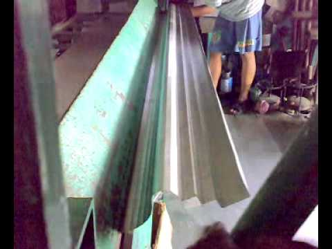 Metal Bending Machine >> 8-FOOT BENDING/FOLDING MACHINE - YouTube