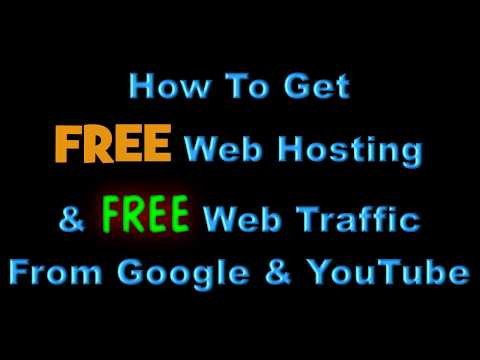 How To Get FREE Web Hosting and Domain Name