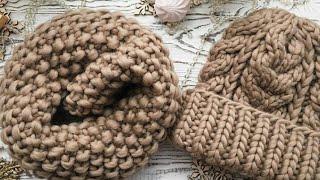 Шапочка из толстой пряжи/ шапочка из перуанской шерсти