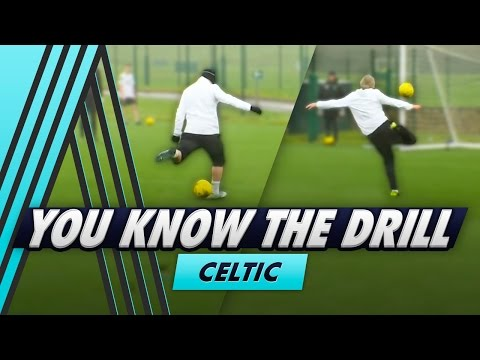 6 Shot Shooting Challenge   You Know The Drill - Celtic FC with Leigh Griffiths
