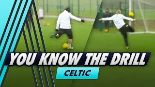 6 Shot Shooting Challenge | You Know The Drill - Celtic FC with Leigh Griffiths