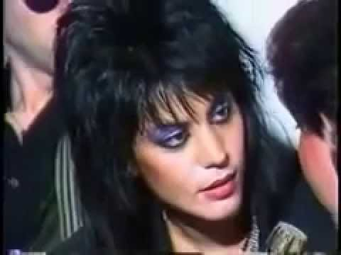 joan jett & The Blackhearts in Panama city 1984 ( America Latina )