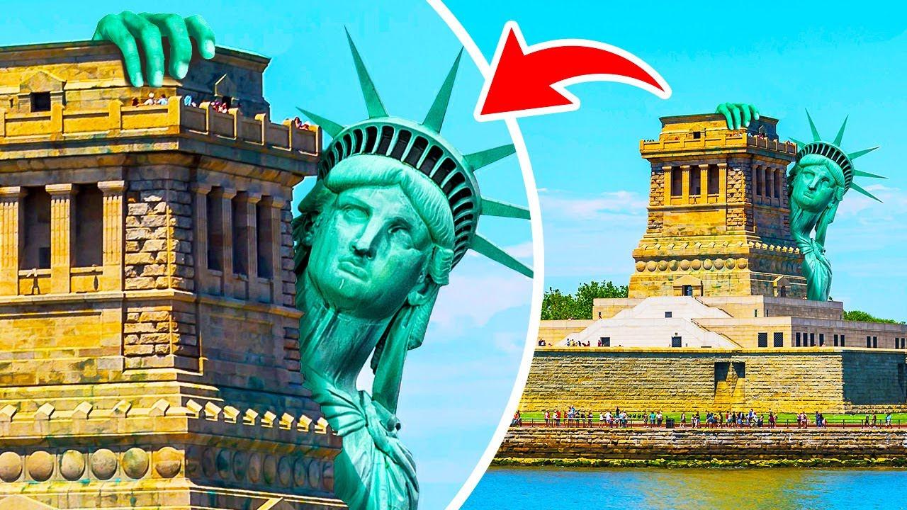 ماذا لو اختفى تمثال الحرية في ظروف غامضة؟
