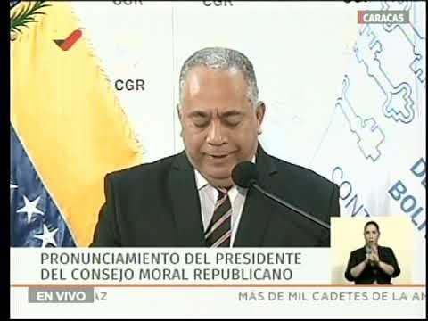 Contralor General de Venezuela anuncia auditoría patrimonial a Juan Guaidó