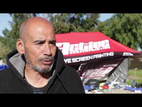Santa Ana River Bed, Homeless Displacement