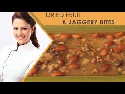 How To Make Dried Fruit & Jaggery Bites   Shipra Khanna   Desserts   New recipes