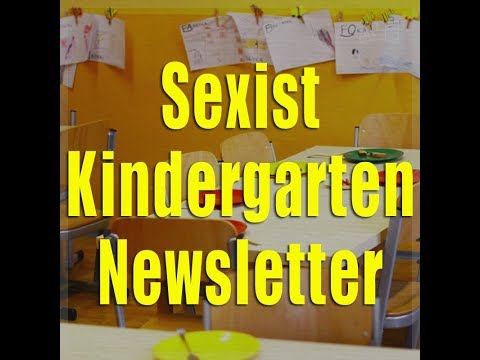 "A wife should ""sexually satisfy her husband,"" says a kindergarten newsletter"