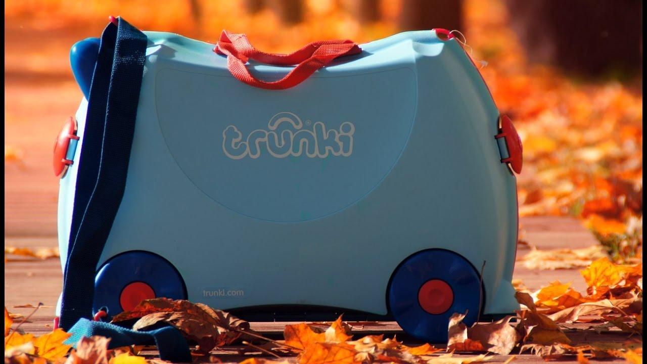 Детские чемоданы на колесиках Trunki (Транки) - YouTube