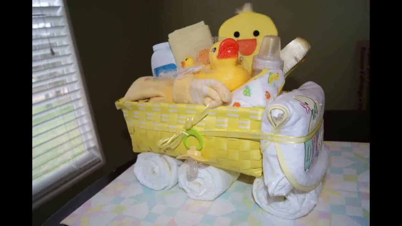 How To Make A Truck Diaper Cake