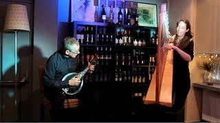 """Celtic Harp and Mandolin """"La Santa Allegrezza"""" (Harfe)"""