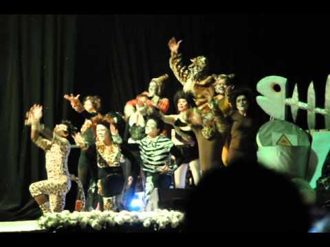Jellicle Cats on Broadway La Cigale 2014
