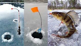 ЗИМНЯЯ РЫБАЛКА 2020 2021 ПРОВЕРКА ЖЕРЛИЦ WINTER FISHING 2020 2021