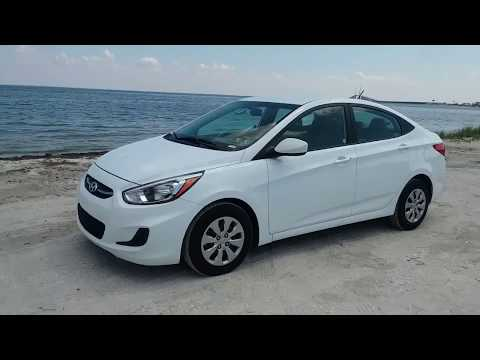 Quickie Rental Car Walkaround 2017 Hyundai Accent