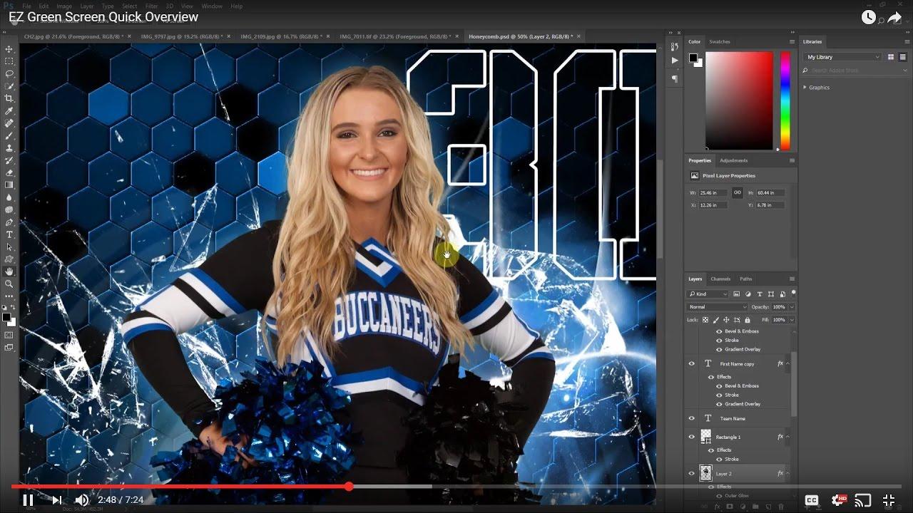 EZ Green Screen - Photoshop Plugin Software