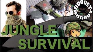 Jungle Survival Kit  Unboxing BattlBox Mission 35 -- Budget Bugout