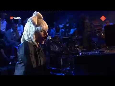 Lady GaGa Poker Face  @ Mooi Weer De Leeuw