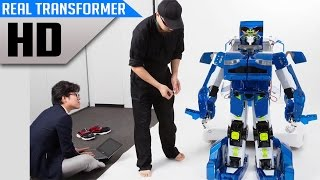 Real Life Transformer Robot - Awesome Japanese Invention
