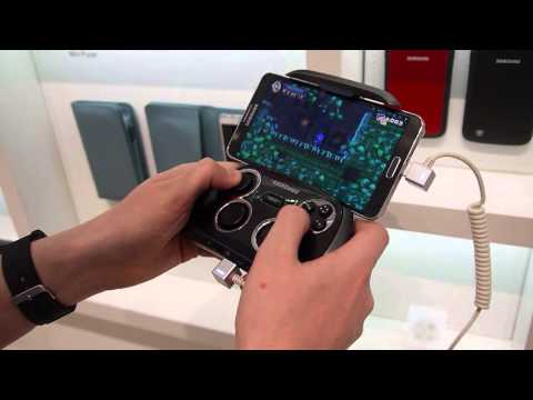 Samsung Gamepad for Galaxy Note 3 hands-on