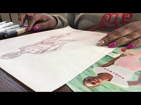 Sketching Fashion Tutorial thumbnail