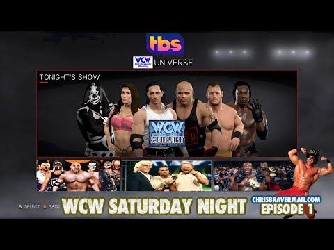 WCW 2K18 - Saturday Night : Episode 1 (WWE Universe Mode)
