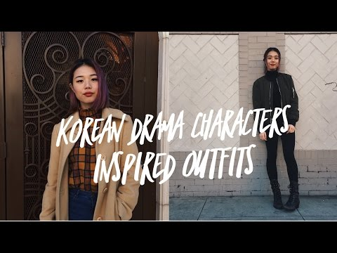 Korean Drama Characters Inspired Outfits Lookbook