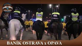 Baník Ostrava x Opava, fans after match