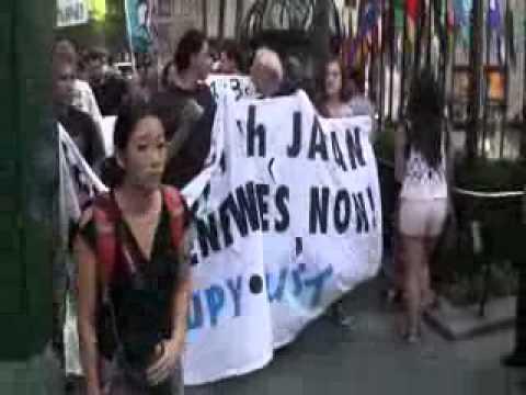 #Fukushima - Hiroshima and Fukushima Anti-Nuclear Protest