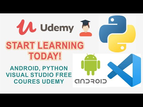 learn-android,-python-and-visual-studio-|-udemy-free-programming-courses-#udemycourses-#eduses