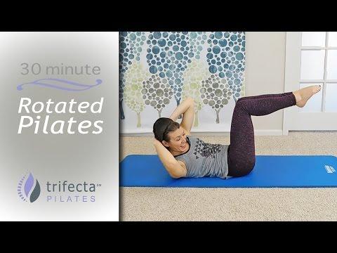 30 Minute Pilates Workout for Obliques