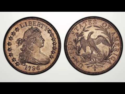 LOT 1100  1796 Draped Bust Half Dollar