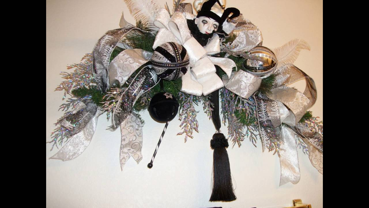 black and white christmas decorations - Black Christmas Decorations