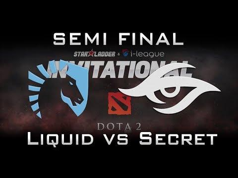 Liquid vs Secret Semi Final Starladder 2017 Minor Highlights Dota 2